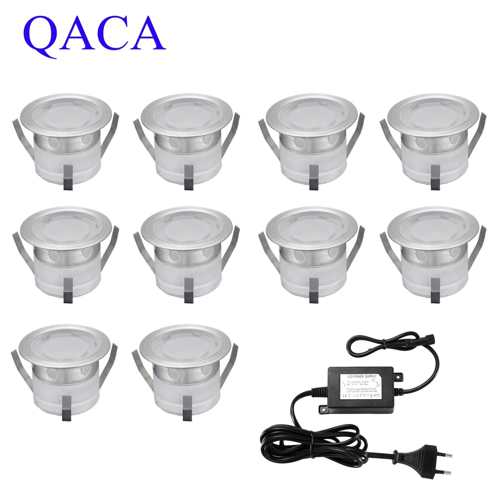 Shop For Cheap Led Deck Lights Kit,stainless Steel Waterproof Outdoor Garden Yard Decoration Garden Lamp Recessed Wood Deck Stairs Light 10pcs Sale Price Led Underground Lamps
