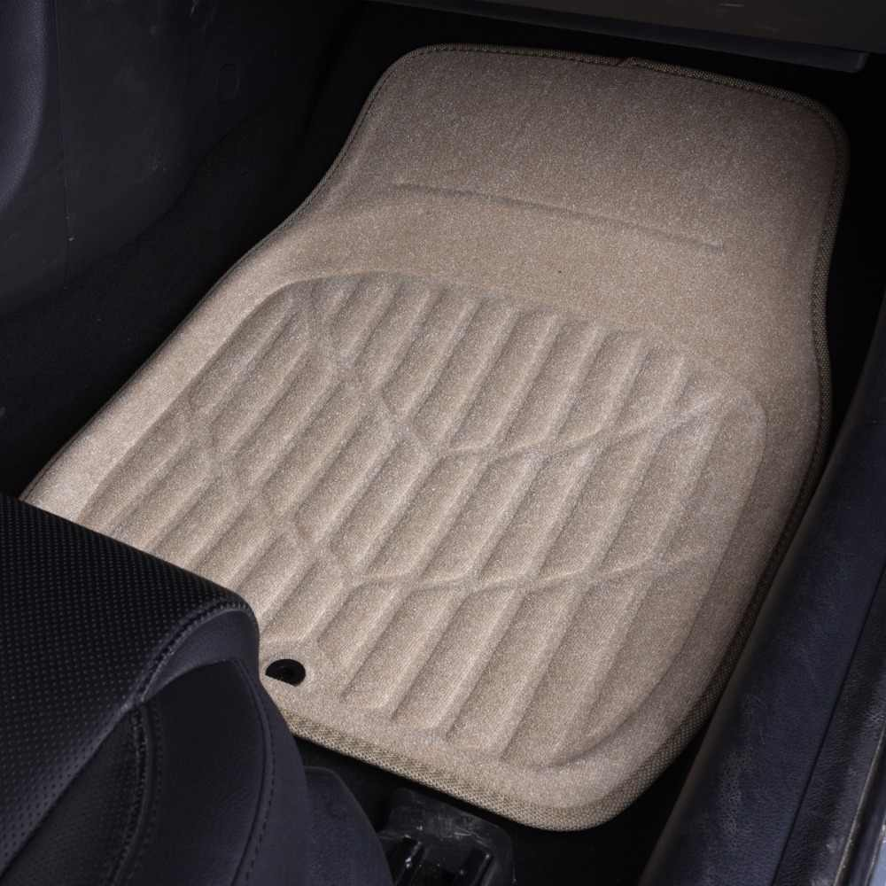 Detail Feedback Questions About Car Floor Mats 1 Piece Black