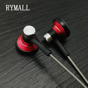 Image 3 - RY04 original in ear Earphone metal manufacturer 15mm music quality sound HIFI Earphone (ie800 style), 3.5mm, New weaving cable