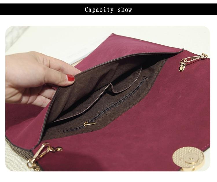 Kpop мода жени плик сцепление чанта - Дамски чанти - Снимка 6