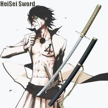 Anime Bleach Katana Ulquiorra Cifer Murcielago Zanpakuto Cosplay Sword Real Carbon Steel Sharp Edge