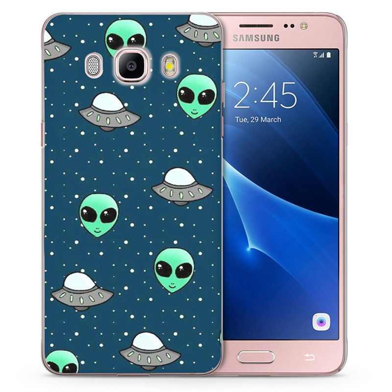 Caso Para Samsung Galaxy A5 A520F prime J1 J2 J3 J5 J7 S8plus Nota 8 Macio TPU Silicone Tampa Traseira casos de telefone C838