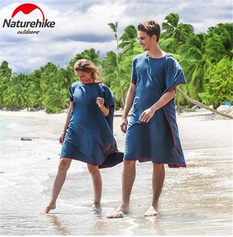 f48e50d1e69 Naturehike al aire libre playa de cambio túnica Poncho toallas Albornoz  Toalla de baño adulto Toalla