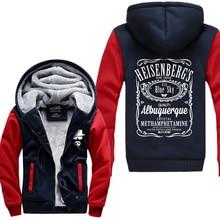 hot sale Breaking Bad Hoodies Sweatshirt 2016 autumn winter Heisenberg Hoodie newest warm fleece men tracksuit for fans M-4XL