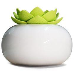 200Ml ceramiczny ultradźwiękowy nawilżacz zapachowy dyfuzor powietrza prostota Lotus oczyszczacz Atomizer dyfuzor olejków eterycznych w Nawilżacze powietrza od AGD na
