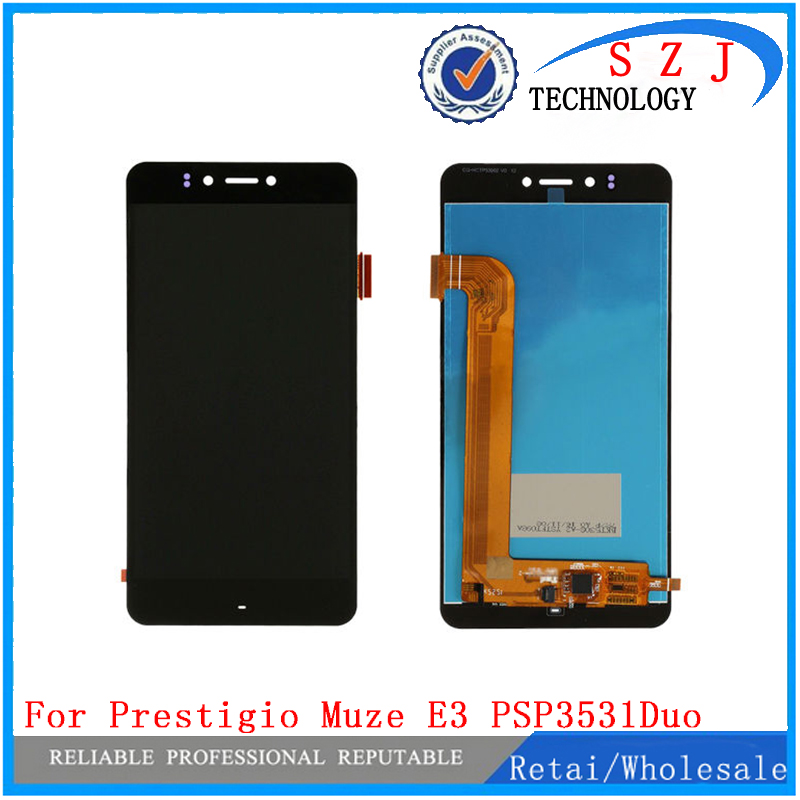 New case Touch screen+LCD Display For Prestigio Muze E3 PSP3531Duo PSP3531 Muze D3 psp3530 digitizer panel sensor Assembly купить