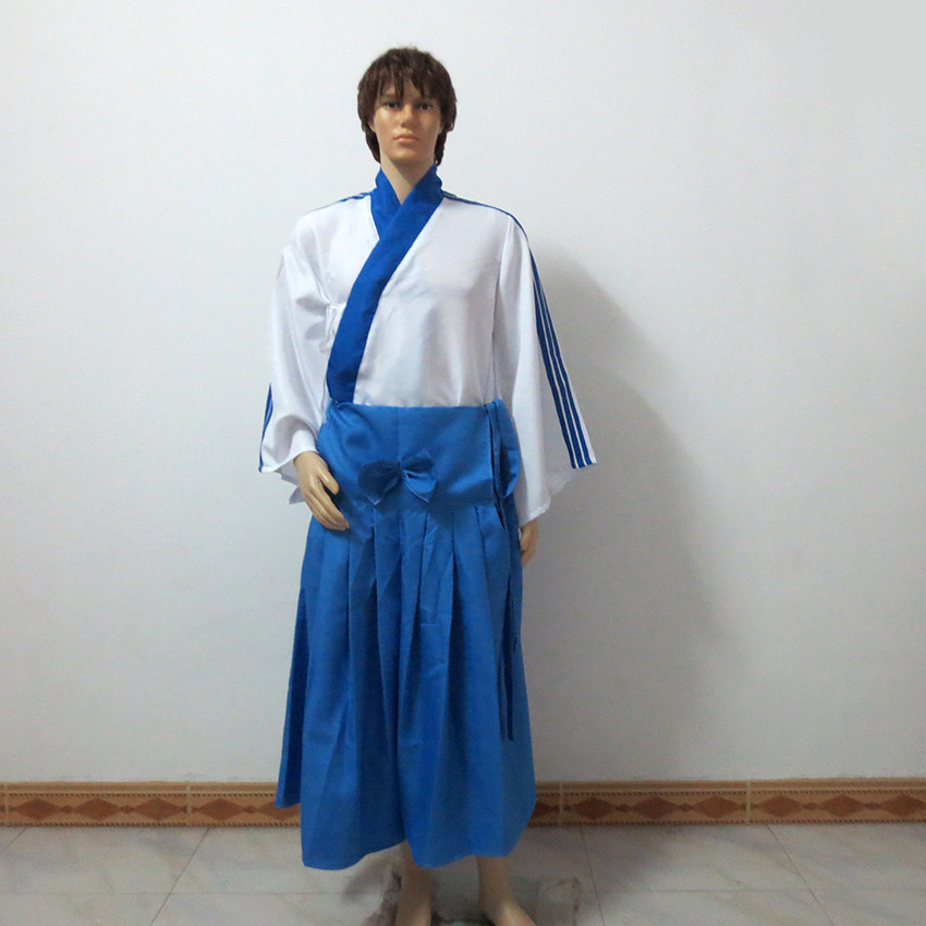 Gintama Shinpachi Shimura Christmas Party Halloween Uniform Outfit Cosplay Costume Customize Any Size