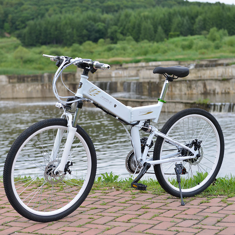 New Electric Bike 24 Speed 10AH 36V 350W Built-in Lithium battery E bike electric 26 Off road Electric bicycle Folding mercane m1 three wheeled electric scooter folding lithium battery bicycle