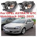 Для OPEL ASTRA H GTC 2005/06/07 + 2015 Передний бампер свет Оригинальные Противотуманные Фары Галогенные лампы автомобилей стайлинг 1 КОМПЛ. OEM1209177-6710027
