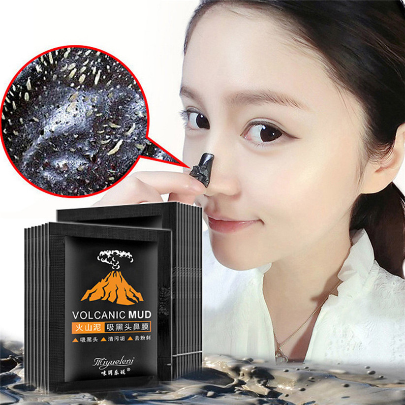 Skin Care Beauty & Health Liddy Blackhead Blemish Removers 5pcs Blackhead Remover Black Mud Deep Cleansing Purifying Peel Acne Face Mask Td0308 Dropship Elegant And Sturdy Package