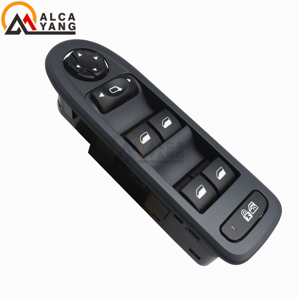 New 308 2007 2012 MODELS 4 WAY WINDOWS AND MIRRORS SWITCHES 96644915-in Car Switches & Relays from Automobiles & Motorcycles