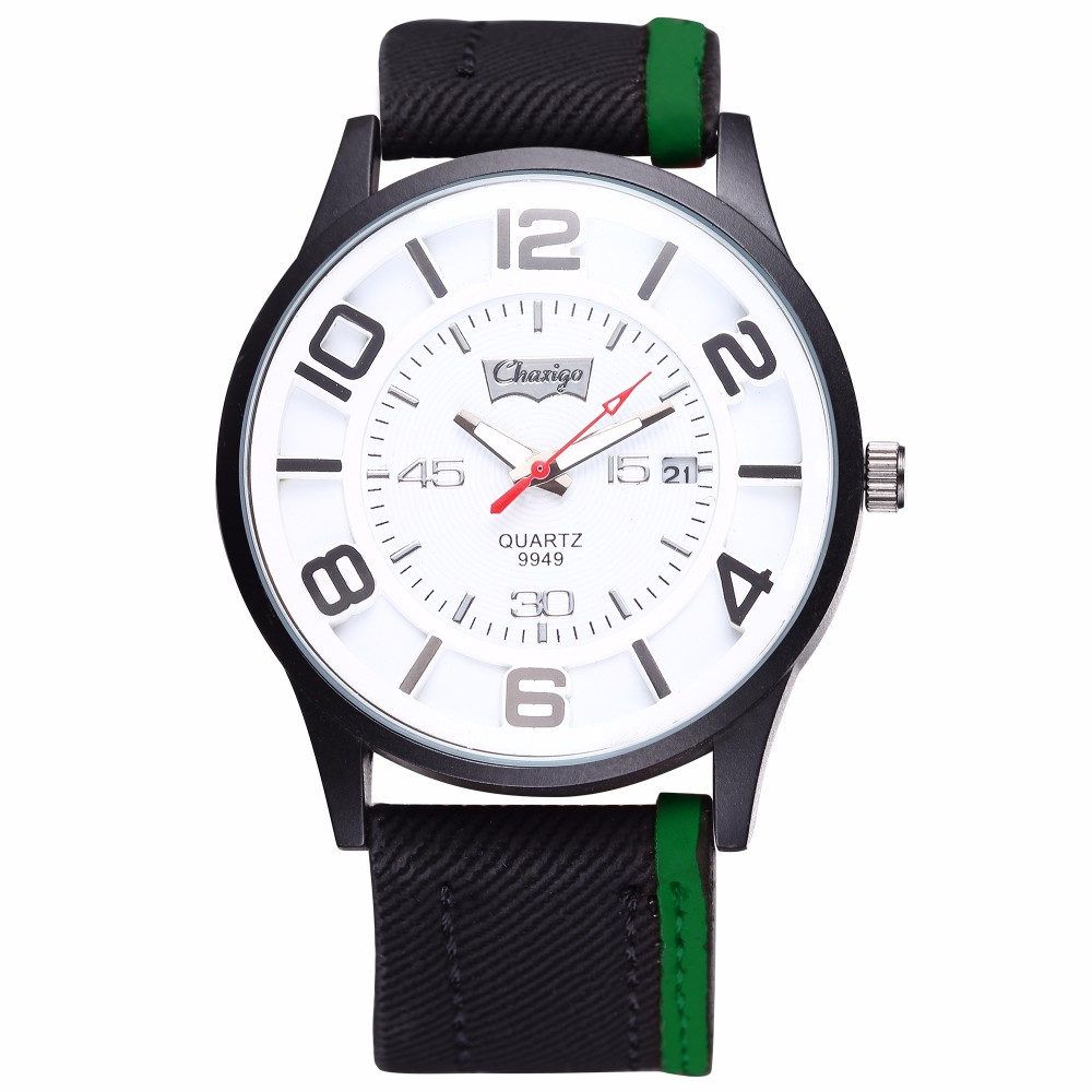 Chaxigo 2017 Hot Popular Leather Business Men Watch The Luxury Brand Watch Charm Style Watches Encanto