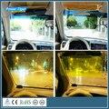 Sol do carro Venda Quente 1 pc Preto Auto Acessórios Do Carro Styling Janela do Carro da Viseira de Sun Bloco Retrátil Viseira de Sol Para carros/Caminhões
