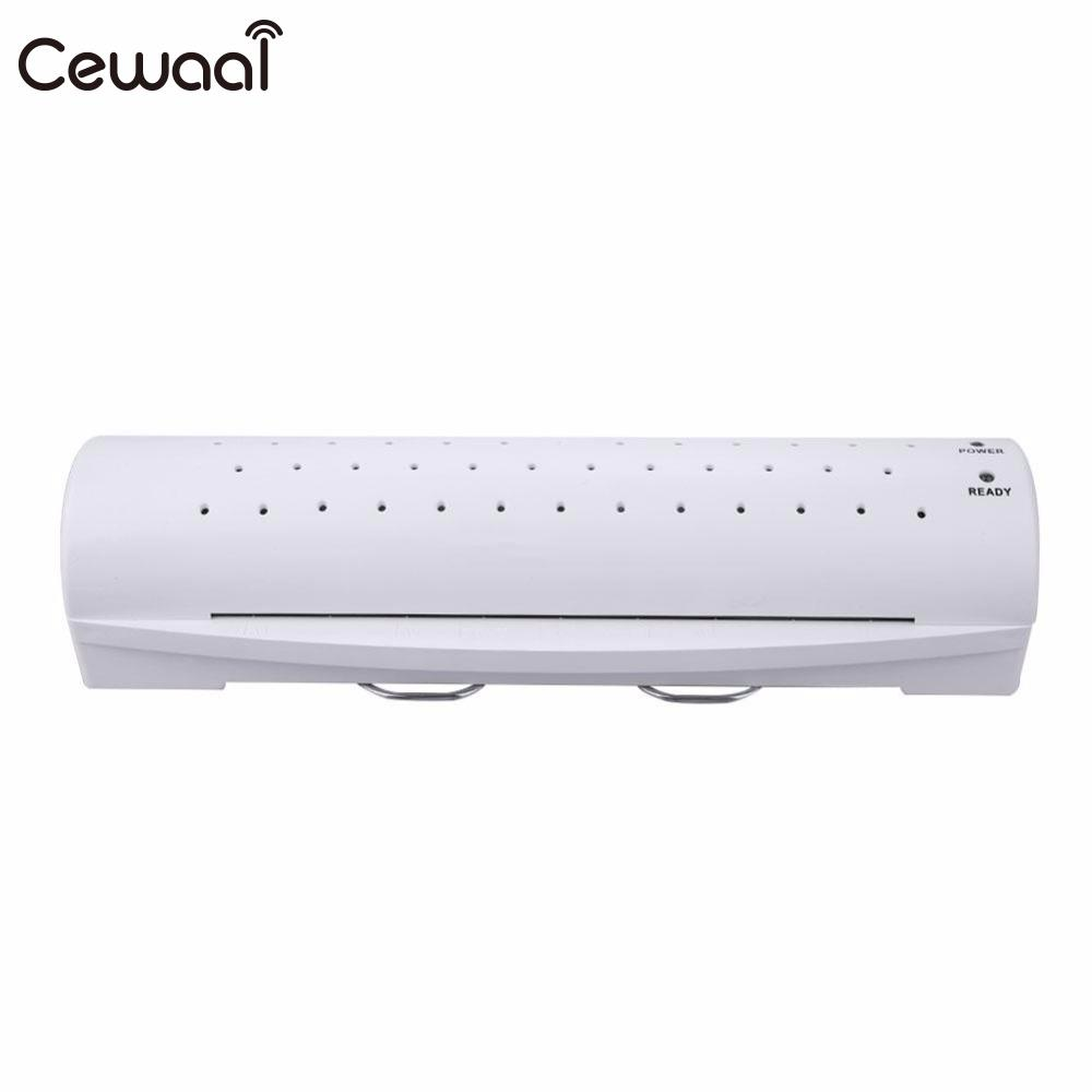 Cewaal 2017 New CLA402 A4 Document Photo Laminator Paper Film Document Thermal Hot&Cold Thermal Laminating Machine Home Film