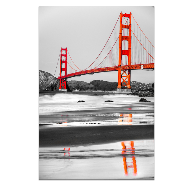 Golden gate bridge home decor