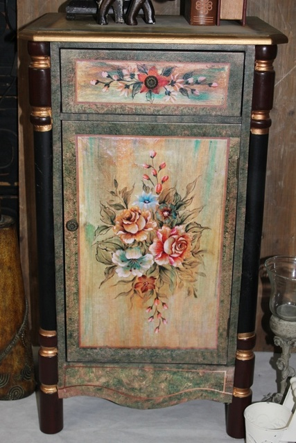 French Country Style Antique Furniture Hand Painted