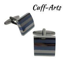 Cufflinks for Men Shirt Unique Fashion Wedding Bijoux Homme Fathers Gift With Box By Cuffarts  C20102