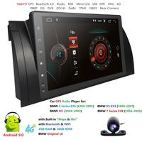 Ossuret 9 2+16 Android 9.0 Quad Core Radio Stereo For BMW 5 Series E39 /X5 E53/M5/ IPS Touch Screen WIFI BT DAB RDS SWC Camera