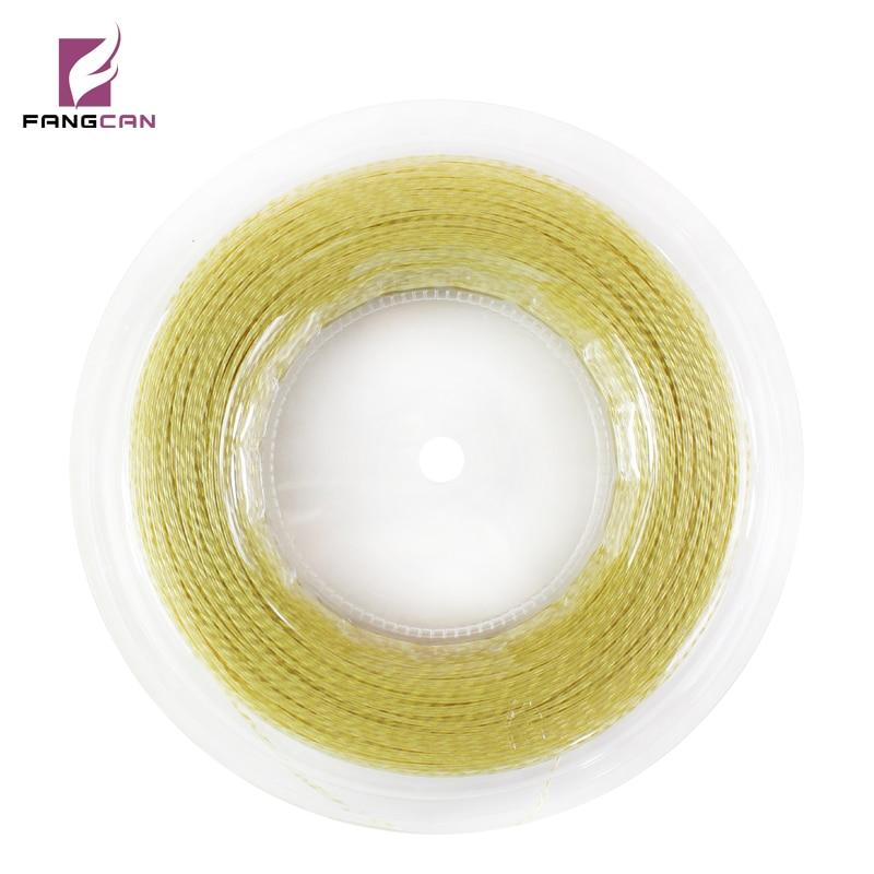 200m / Reel FANGCAN TS201 נשלף מחרוזות עמיד ורציף טוב סליל טניס מחרוזות עבור מחבט טניס 4 צבעים זמין