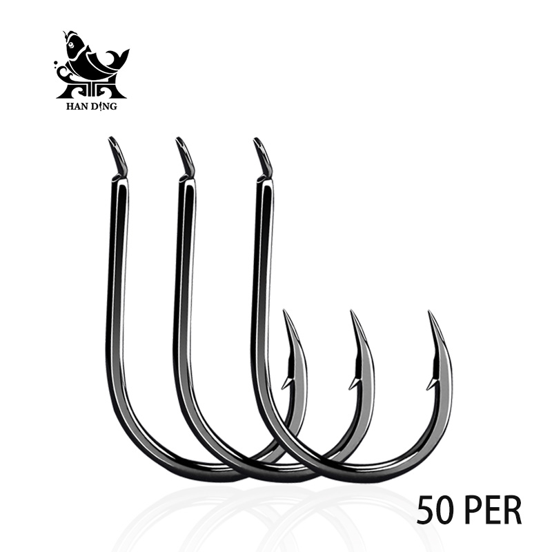 Handing 0.1#-10# high carbon steel Hooks Fishing Barbed Hook High Quality Brand Fishing  ...