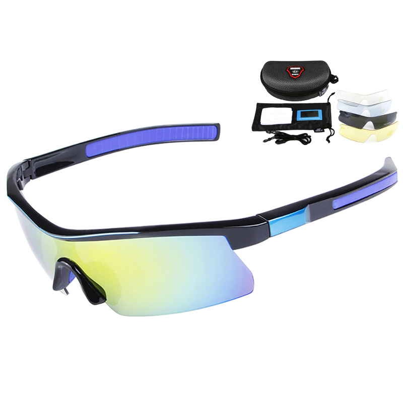 3c7ec0543d Polarizado gafas Ciclismo UV400 gafas de sol de bicicletas bicicleta lentes  TR90 gafas 5 lente gafas de Ciclismo