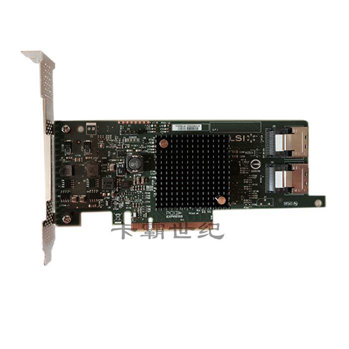 Free Shipping Original Genuine LSI SAS 9217 8I 6Gb HBA RAID0/1 pci ex8 3.0 Original Genuine RAID Card-in Instrument Parts & Accessories from Tools    1