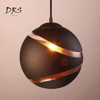 Modern Minimalist Black White Chandelier Lighting Creation Bedroom Restaurant Art Pendant Lamp Cafe Bar Glass Ball Hang Lights
