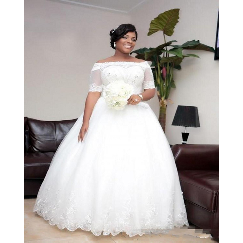 Buy 2017 plus size african wedding for Plus size african wedding dresses
