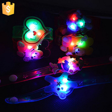 LED flashing light bracelet with 2016 glowing for birthday party decorations kids 60pcs