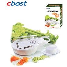 Multifunction Slicing vegetable processor combination shredder slice 17*17.5*7cm Free shipping