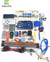 2set Mega 2560 R3 Starter Kit Motor Servo RFID Ultrasonic Ranging Relay LCD