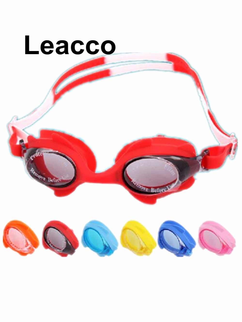 6d8c3e6e04d Kids Boys Girls UV Protection Cute Eyewear Water SportsLovely Children Waterproof  Anti-fog Swimming Goggles