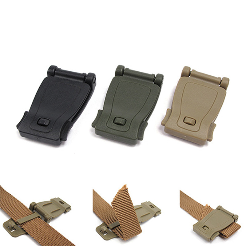 Strap Buckle Tactical Backpack Bag Carabiner Connect Clip Outdoor Camp Hike Mountain Climb Attachement Equipment Accessories