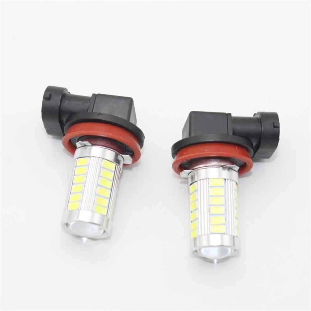 2 قطعة H11/H8 سيارة LED مصابيح كهربائية لشركة فولكس فاجن جولف 7 A7 MK7 sportvan 2014 2015 2016 2017 2018 LED الضباب مصباح إضاءة للضباب لمبات