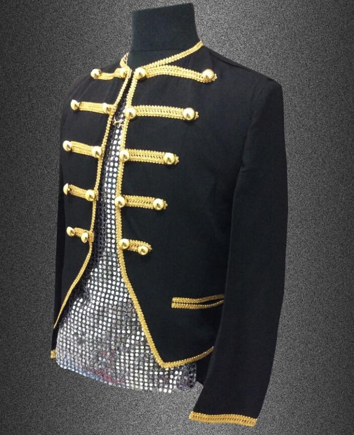 Plus size S 4XL slim black Men suit top bar nightclub painted pattern costumes male singer DJ stage wear jacket outerwear coat