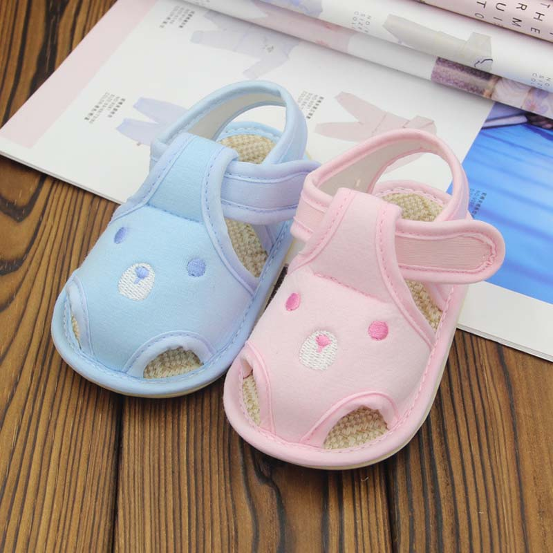 1 Pair Summer Baby Newborn First Walker Shoes Girl Boy Soft cow Muscel Bottom Anti-slip Breathable Footwear Baby Toddler Shoes