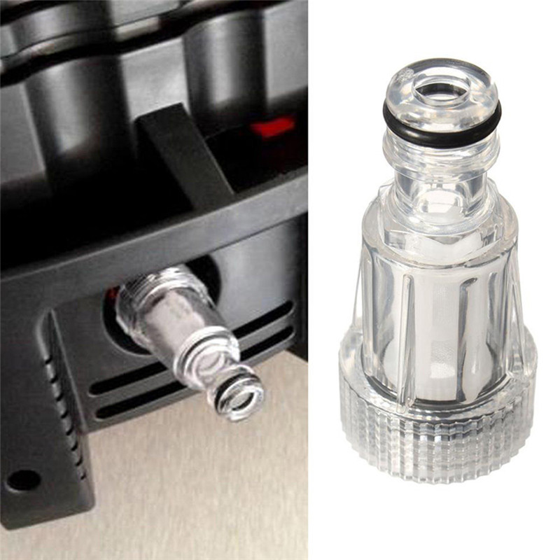 Car Washing Machine Universal Nipple Connector Cleaning Machine Accessories Electric Water Pump Filter External Water Nut P34