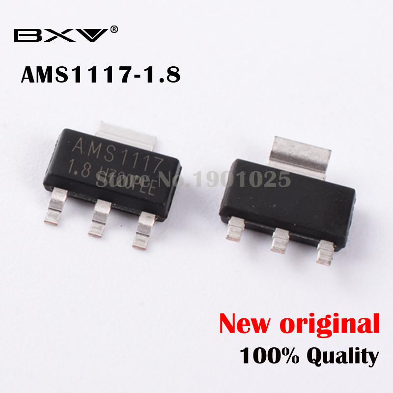 10pcs AMS1117-1.2V Original Power Supply IC Buck IC Linear Regulator LDO SOT-223