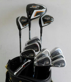men left hand golf irons complete set golf clubs X2 hot golf driver fairway iron putter 718 MB CB G30 M2 M1 X2hot