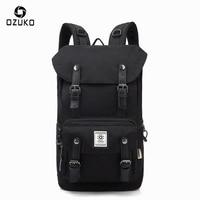 OZUKO 2017 Casual Men S Backpack Waterproof Oxford Drawstring Bag Laptop Computer Bag Fashion Student School