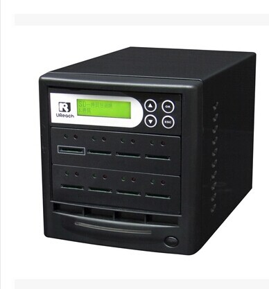 New Arrival 8 Ports SD Card Duplicator SD Duplicators (SD608: High-speed Copy, Data Comparison, Formatted, Encrypted Copy)
