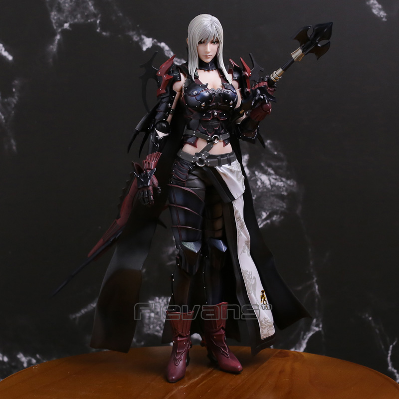 Final Fantasy XV 15 Aranea Highwind Play Arts Kai Genuine PVC Action Figure Collectible Model Toy