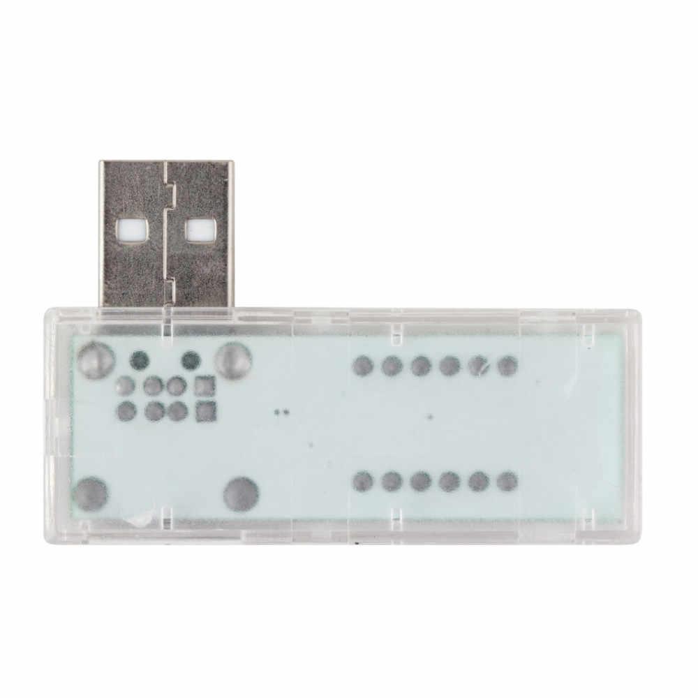 Medidor de corriente de voltaje del Detector del USB del probador de batería del teléfono móvil Digital del médico del cargador del USB 1 pieza
