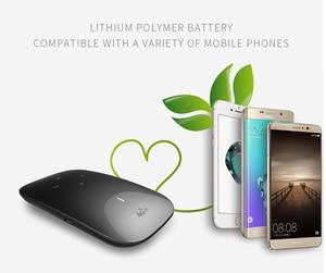 Image 4 - Wireless 150 Mbps 3G 4G Desbloqueado Router Wi fi 3000 mAh Portátil Banco de Potência função WPS Apoio Cartão SIM slot para Atingir Usuários 10
