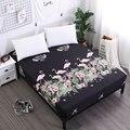 Dreamworld Flamingos Druck Bett Blatt Schöne Bär Ausgestattet Blatt mit Elastische für Kind Polyester Gebürstet Matratze Protector-in Blatt aus Heim und Garten bei