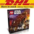 3346 unids Sandcrawler Lepin 05038 Star Wars Building Blocks Establece Ladrillos de Juguete Para Construir Juguetes compatible con 75059