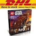3346pcs Lepin 05038 Star Wars Sandcrawler Building Blocks Sets Juguete Para Construir Bricks Toys compatible with 75059