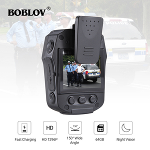 Image 1 - BOBLOV PD50 מלא HD 1296P גוף מצלמה משטרת IR ראיית לילה מיני לנטנה policial וידאו מקליט Dvr WDR אבטחת כיס לנטנה