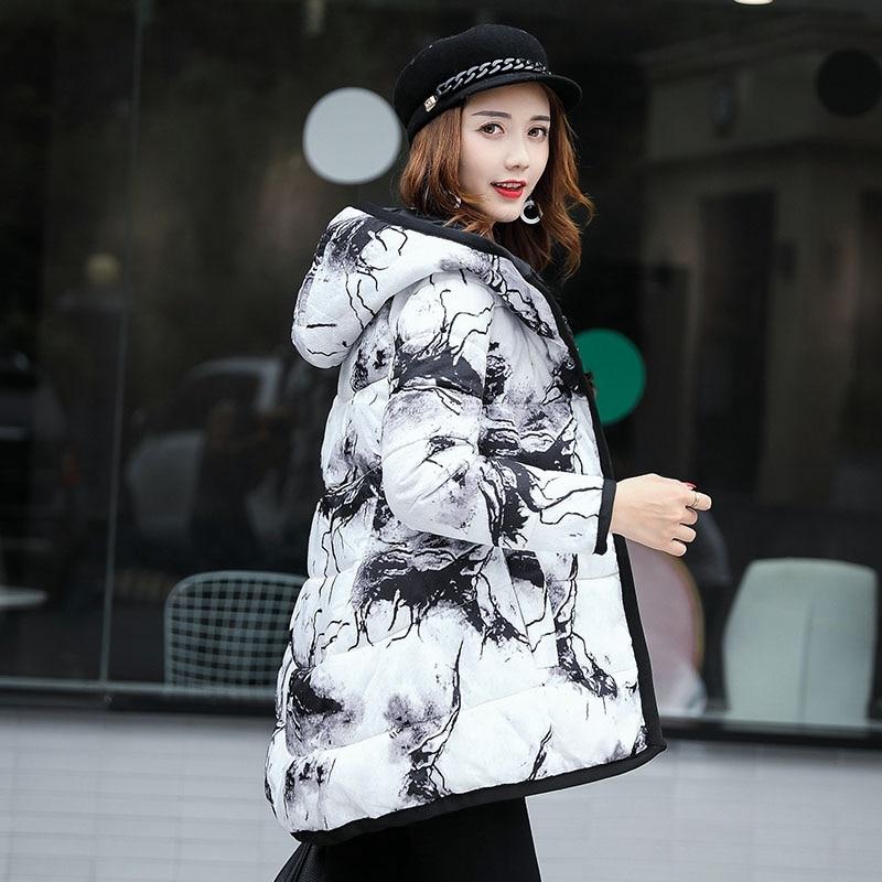 Zipple Couleur À Coton Grande White Nouveaux Femmes Veste 2017 Taille Hiver Chaud Capuchon Solide Sleevess Longue Ko122 7qxwPTS