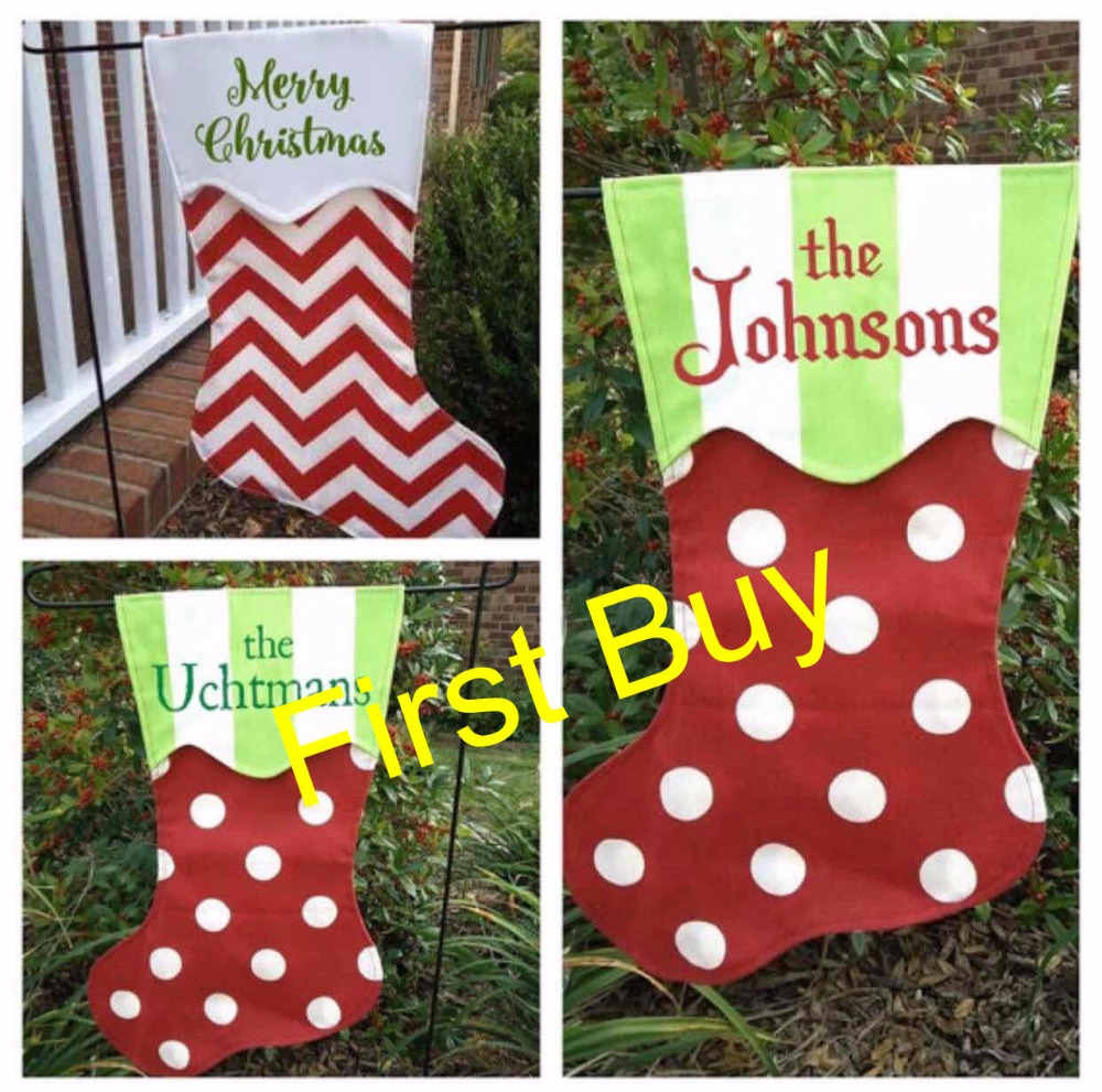 Fullsize Of Monogrammed Christmas Stockings